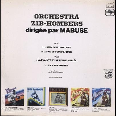 zib-hombers orchestra dirigée par mabuse