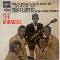 THE MIRACLES - That's What Love Is Made Of +3 - 45T (EP 4 titres)