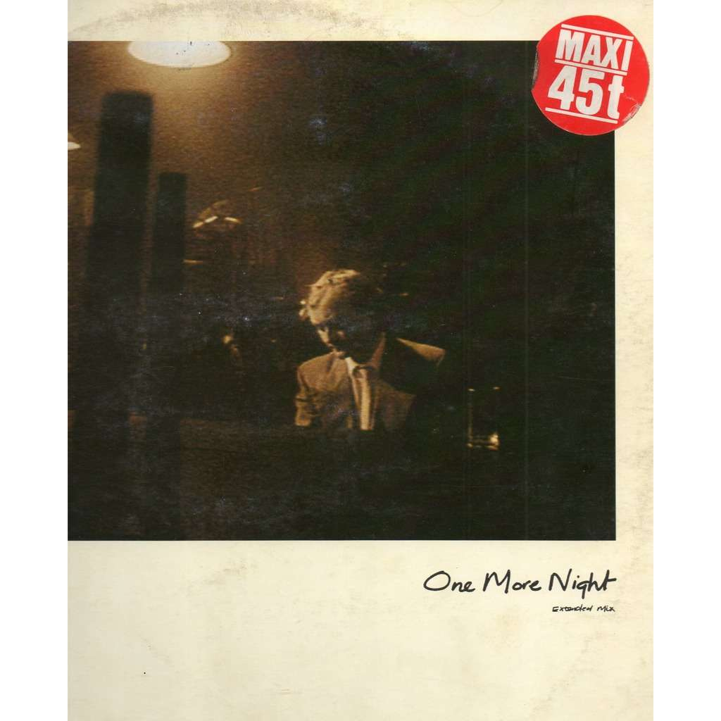 one more night i like the way by phil collins 12inch with
