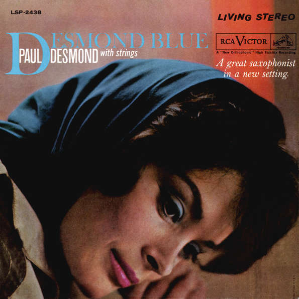 Paul Desmond With Strings - Desmond Blue Record