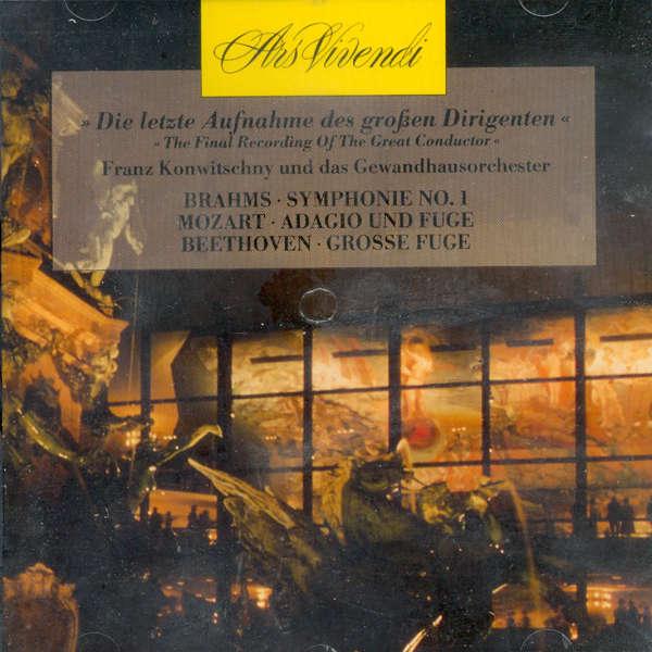 Franz Konwitschny Le dernier enregistrement du grand chef
