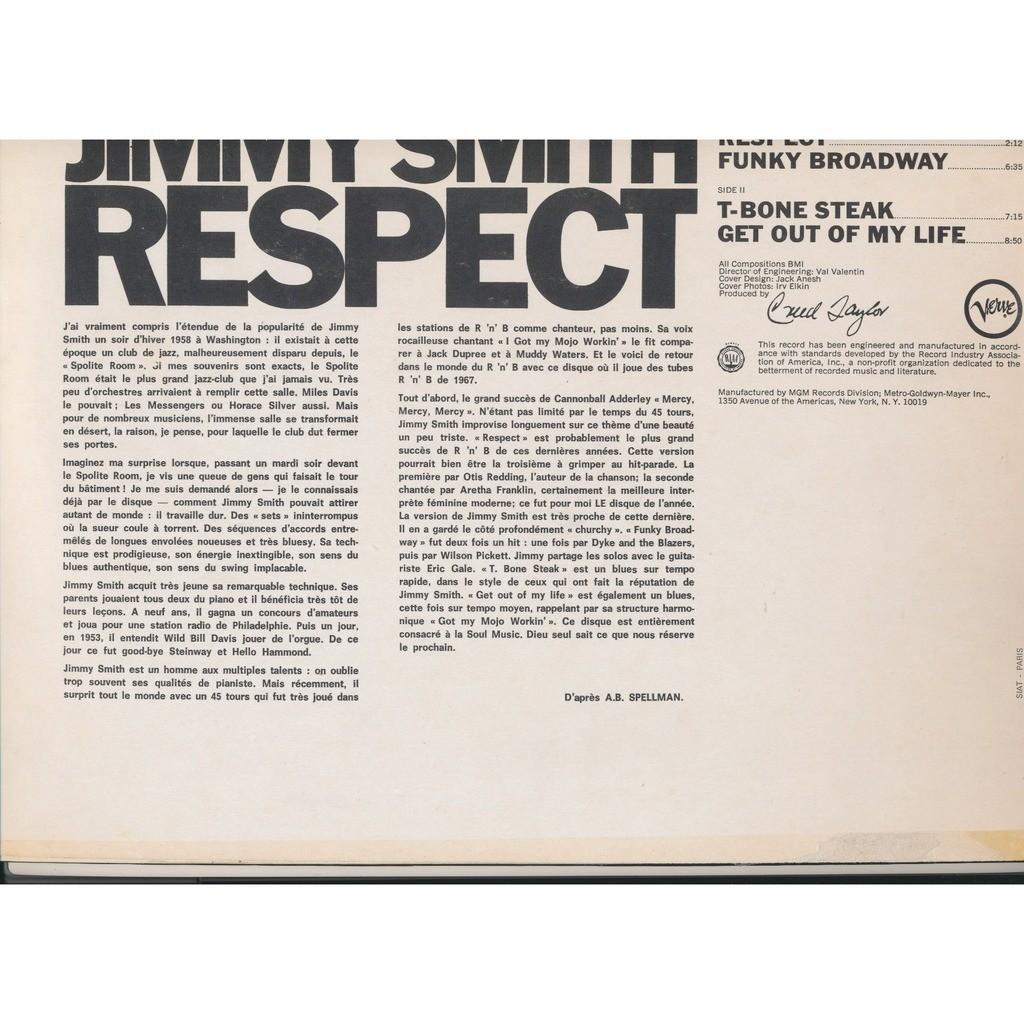 JIMMY SMITH respect