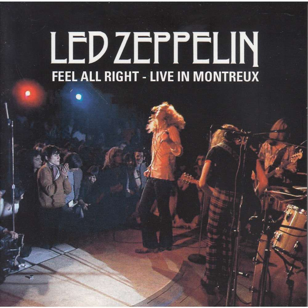 Feel All Right Live In Montreux By Led Zeppelin Cd X 4