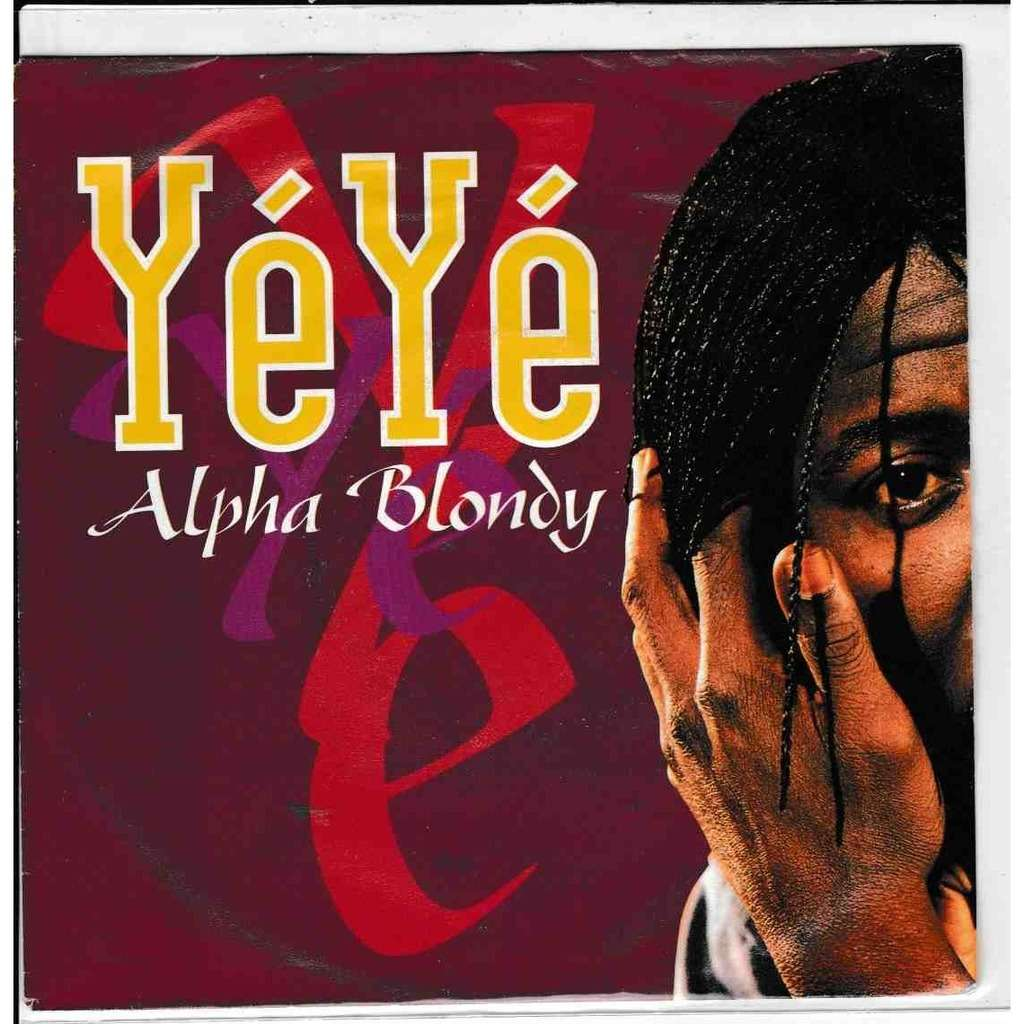 ALPHA BLONDY Yéyé * God Is one