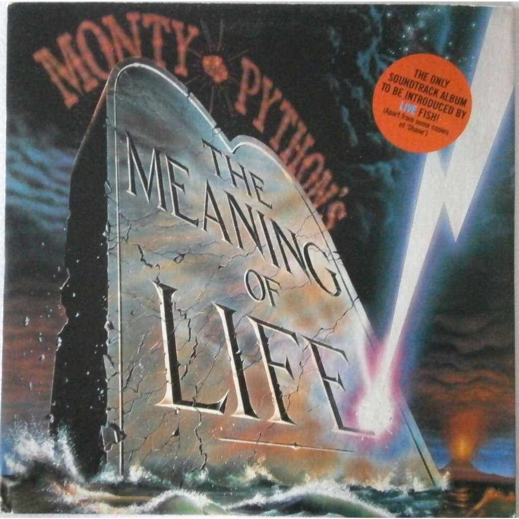 The Meaning Of Life By Monty Python Lp With Grymelkin