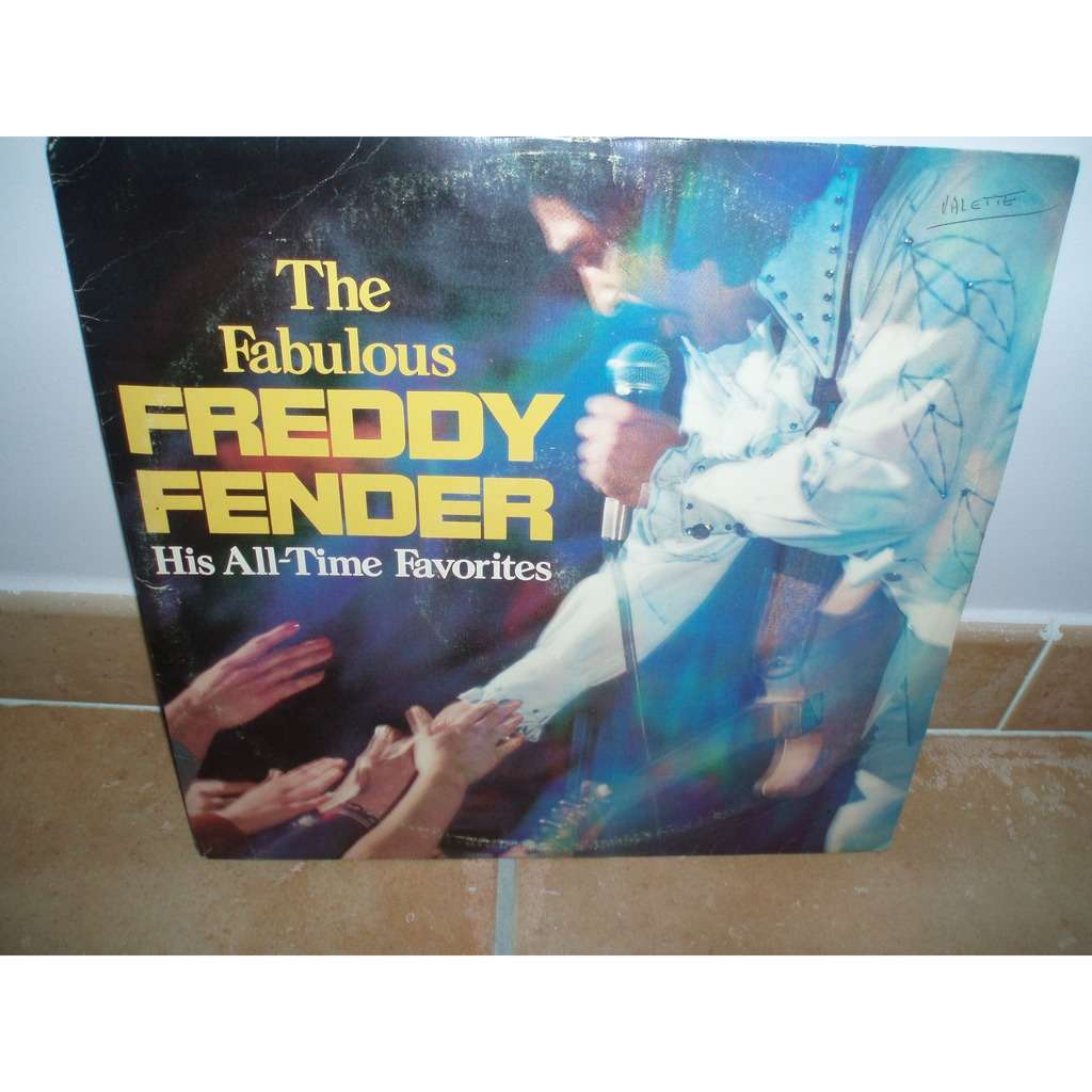 The Fabulous By Freddy Fender, LP X 2 With Slsl1951