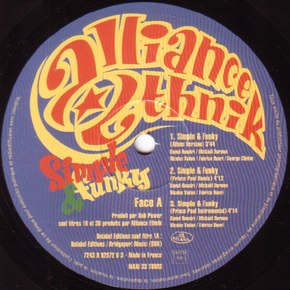 alliance ethnik simple & funky
