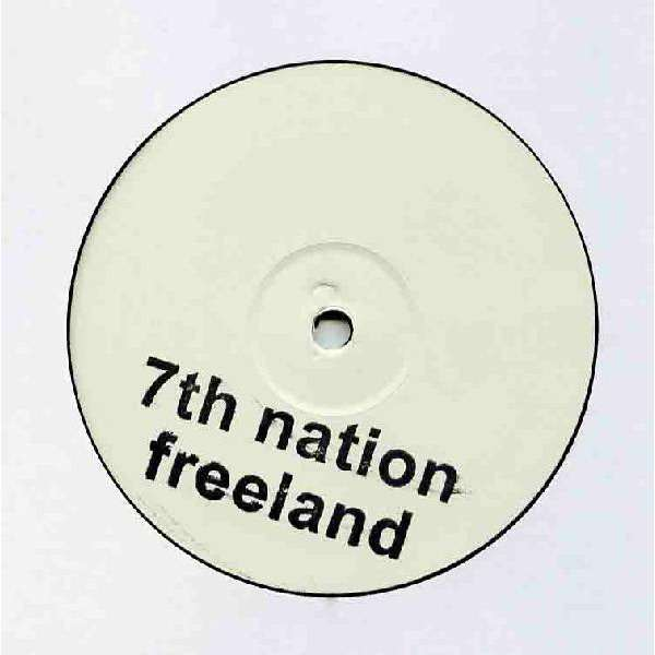 The White Stripes vs. Adam Freeland 7th Nation Freeland ( Single Sided, White Label, Unofficial Release )