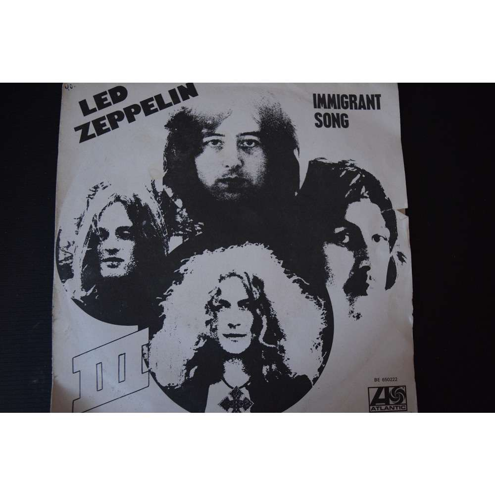 led zeppelin immigrant song + hey hey what can i do