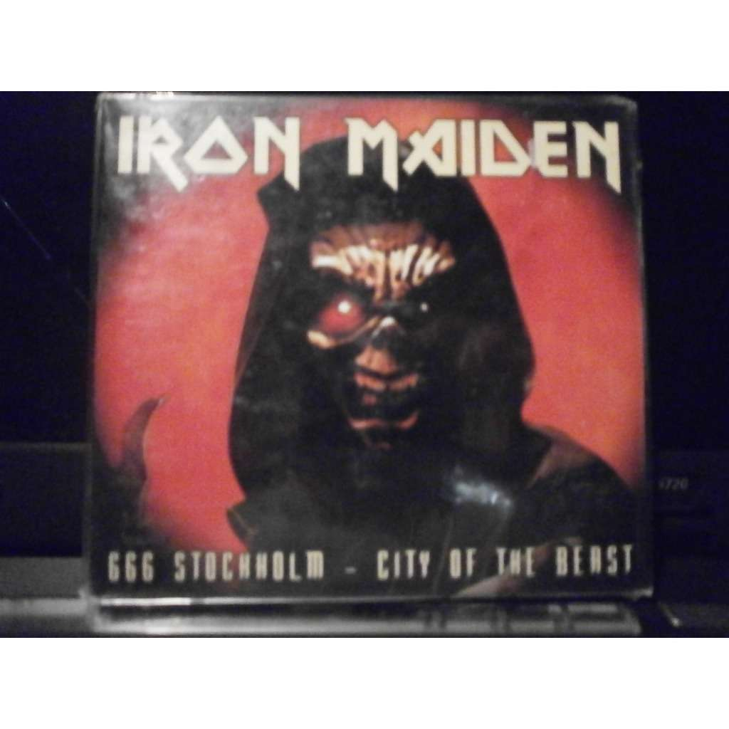CD. DOBLE. IRON MAIDEN 666 STOCHHOLM - CITY OF THE BEAST