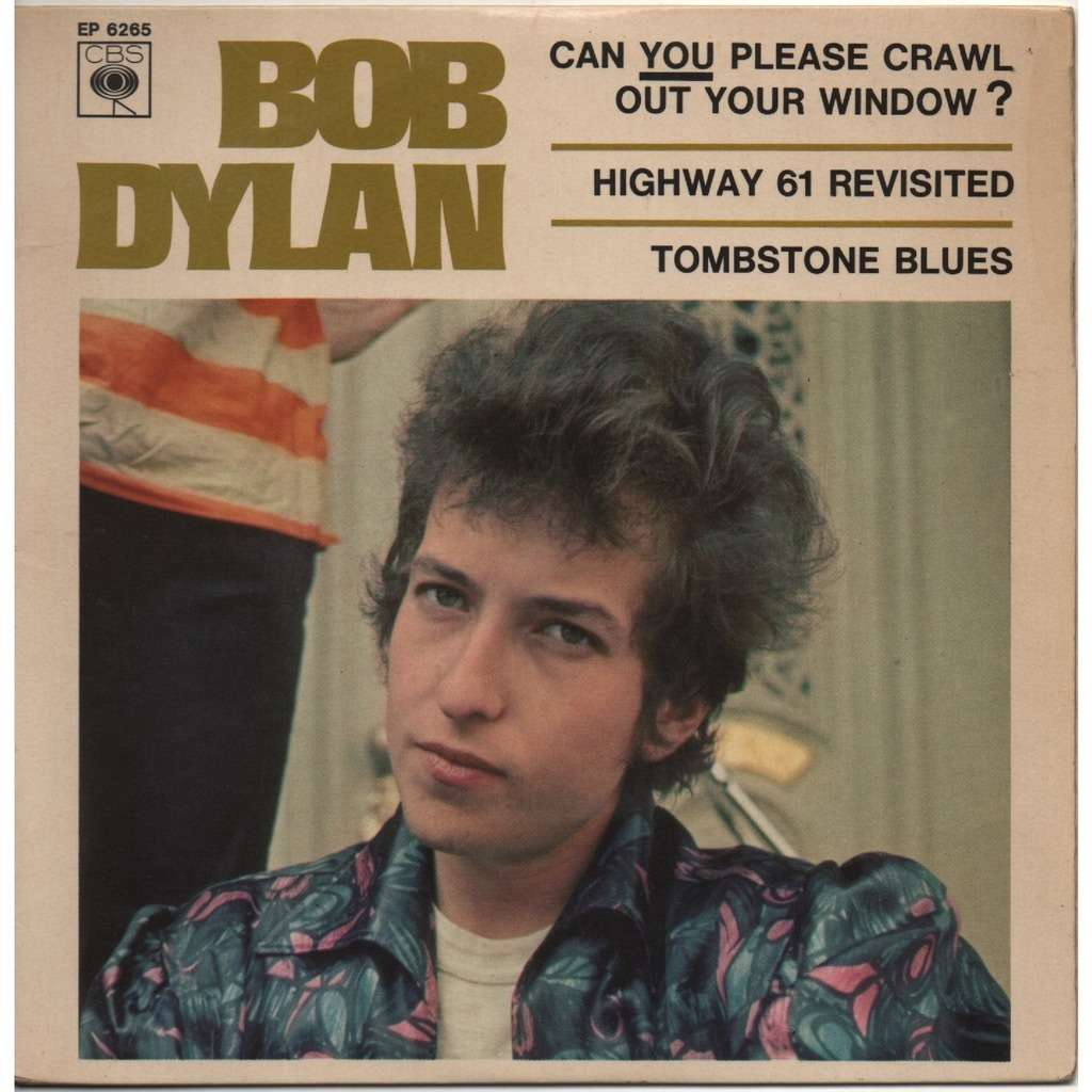 Can You Please Crawl Out Your Window By Bob Dylan Ep With Scubt01