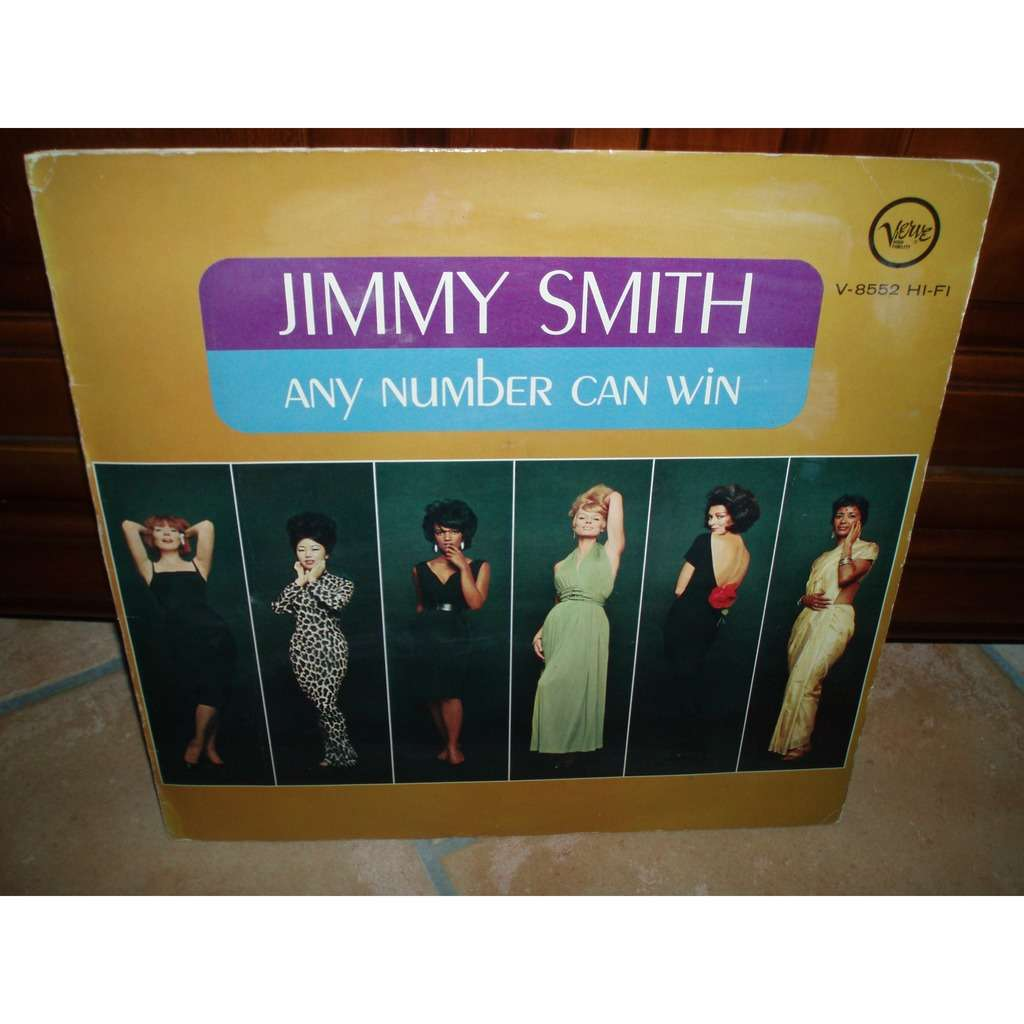 JIMMY SMITH ANY NUMBER CAN WIN