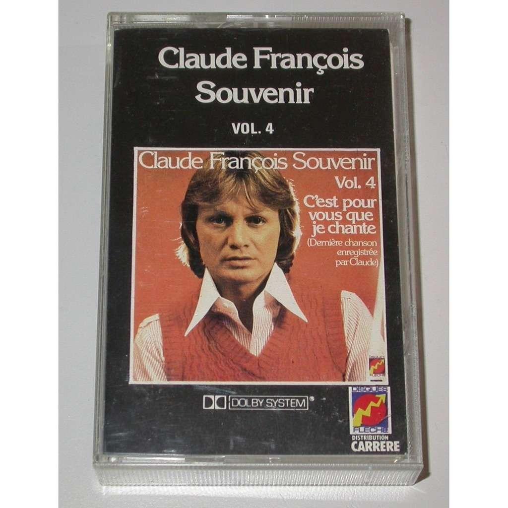 CLAUDE FRANCOIS souvenir vol.4