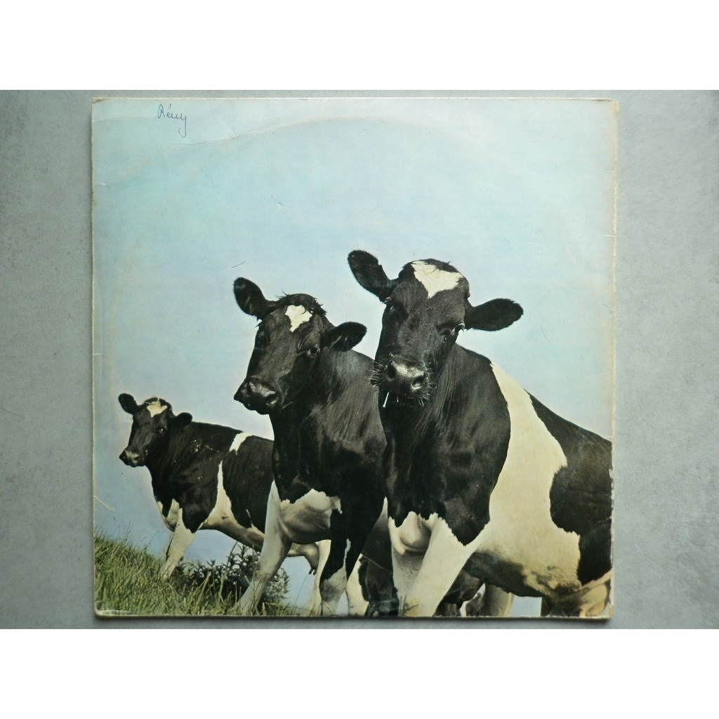 Atom Heart Mother By Pink Floyd Lp With Fanfan Ref