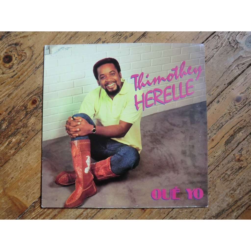 Thimothey HERELLE Oué Yo (original French press - 1988)
