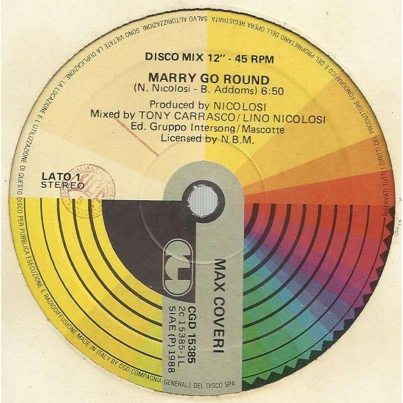 Max COVERI marry go round / instru.