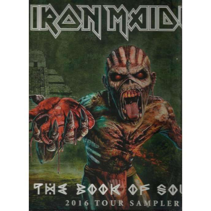 iron maiden the book of souls 2016 tour sampler