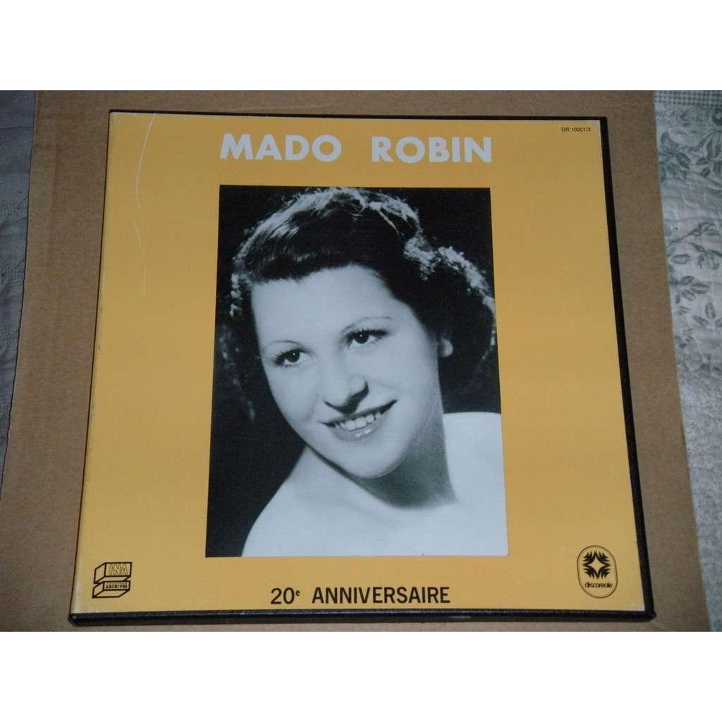 MADO ROBIN 20ème ANNIVERSAIRE Avec Livret