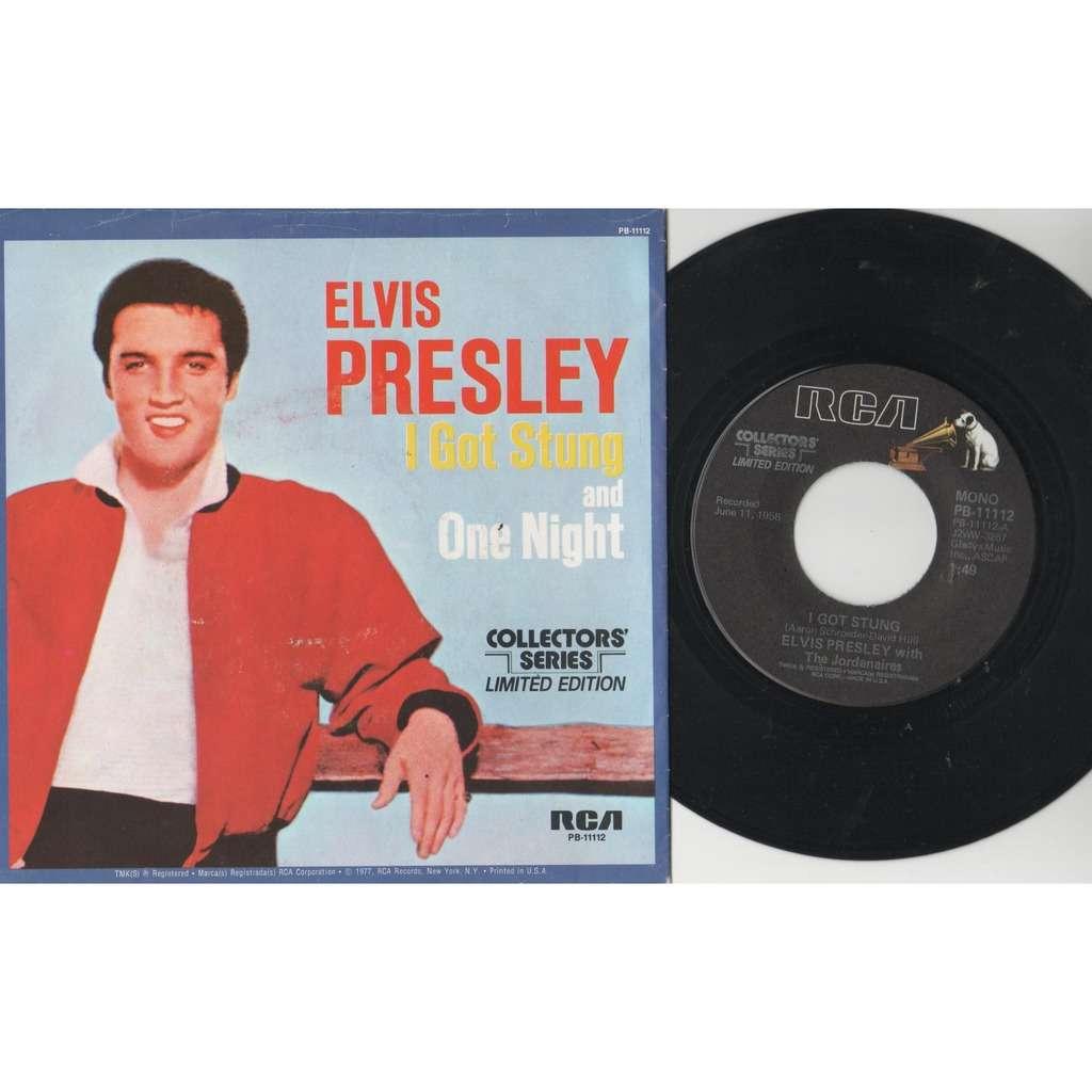 Elvis Presley I Got Stung (USA 1977 Ltd 'Collectors' Series' re 2-trk 7single full ps)