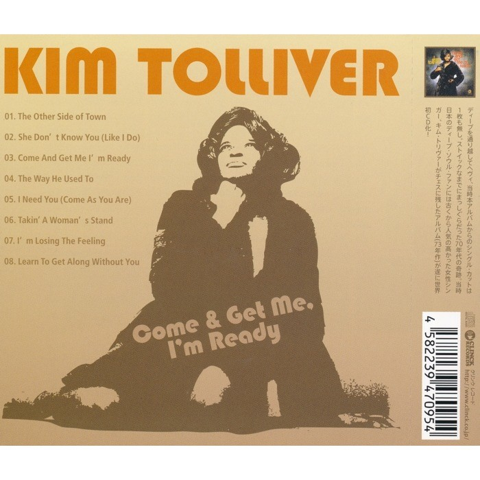 Kim Tolliver Come And Get Me I'm Ready 1973