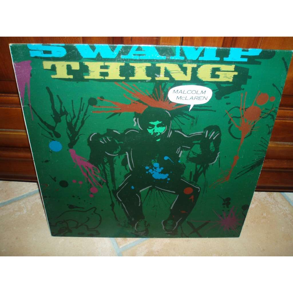 Swamp thing by Malcolm Mclaren, LP with slsl1951 - Ref:118535395