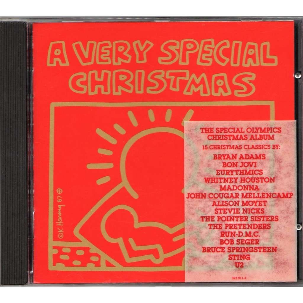 police sting bon jovi bryan adams a very special christmas german 1987