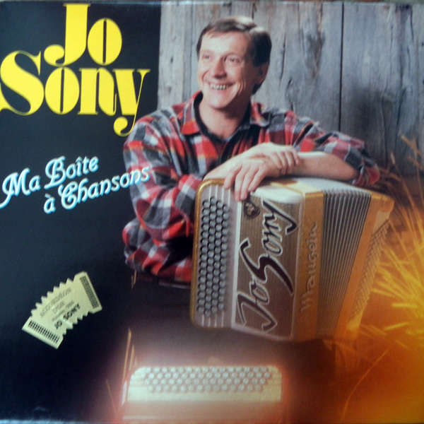 Jo Sony Ma boîte à chansons