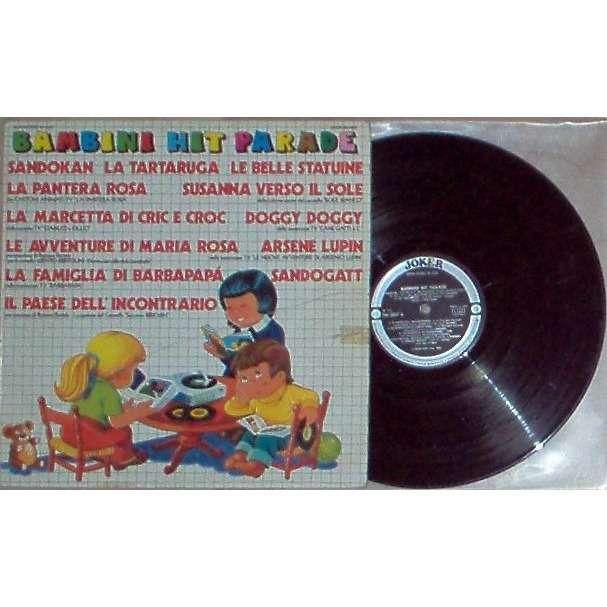 Roberto Vecchioni Bambini Hit parade (Italian 1976 12-trk V/A LP on Joker lbl full ps)