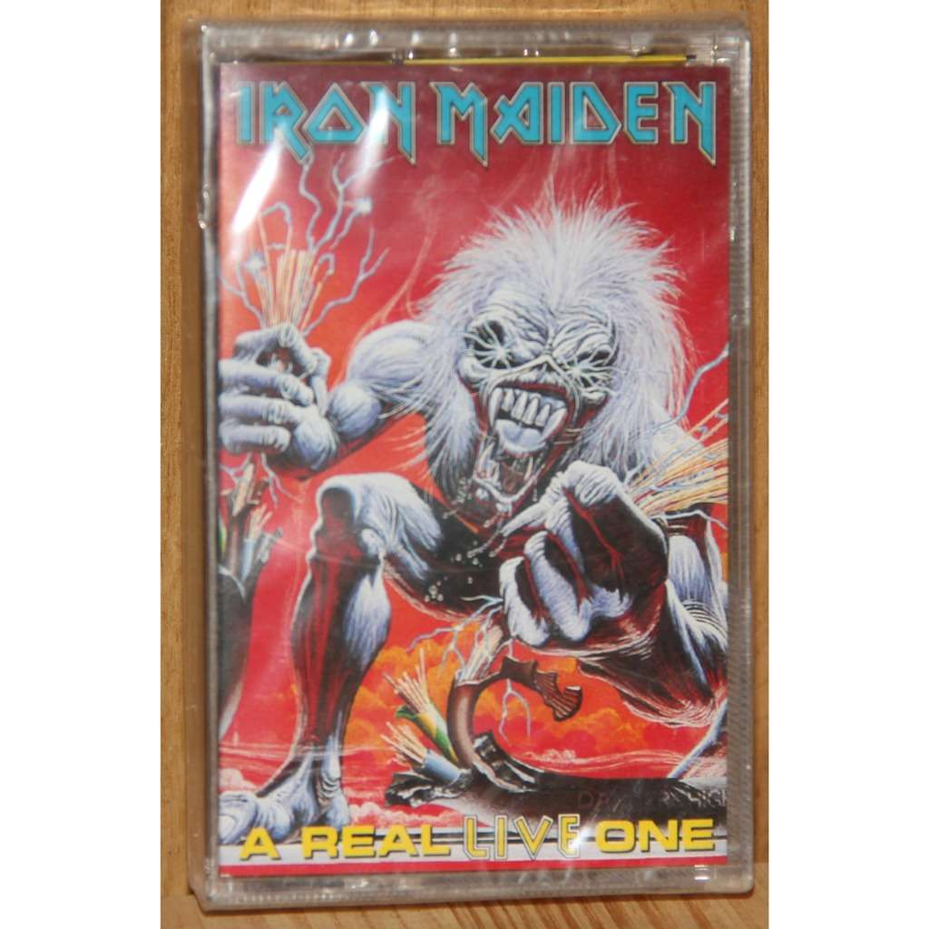 IRON MAIDEN A REAL LIVE ONE