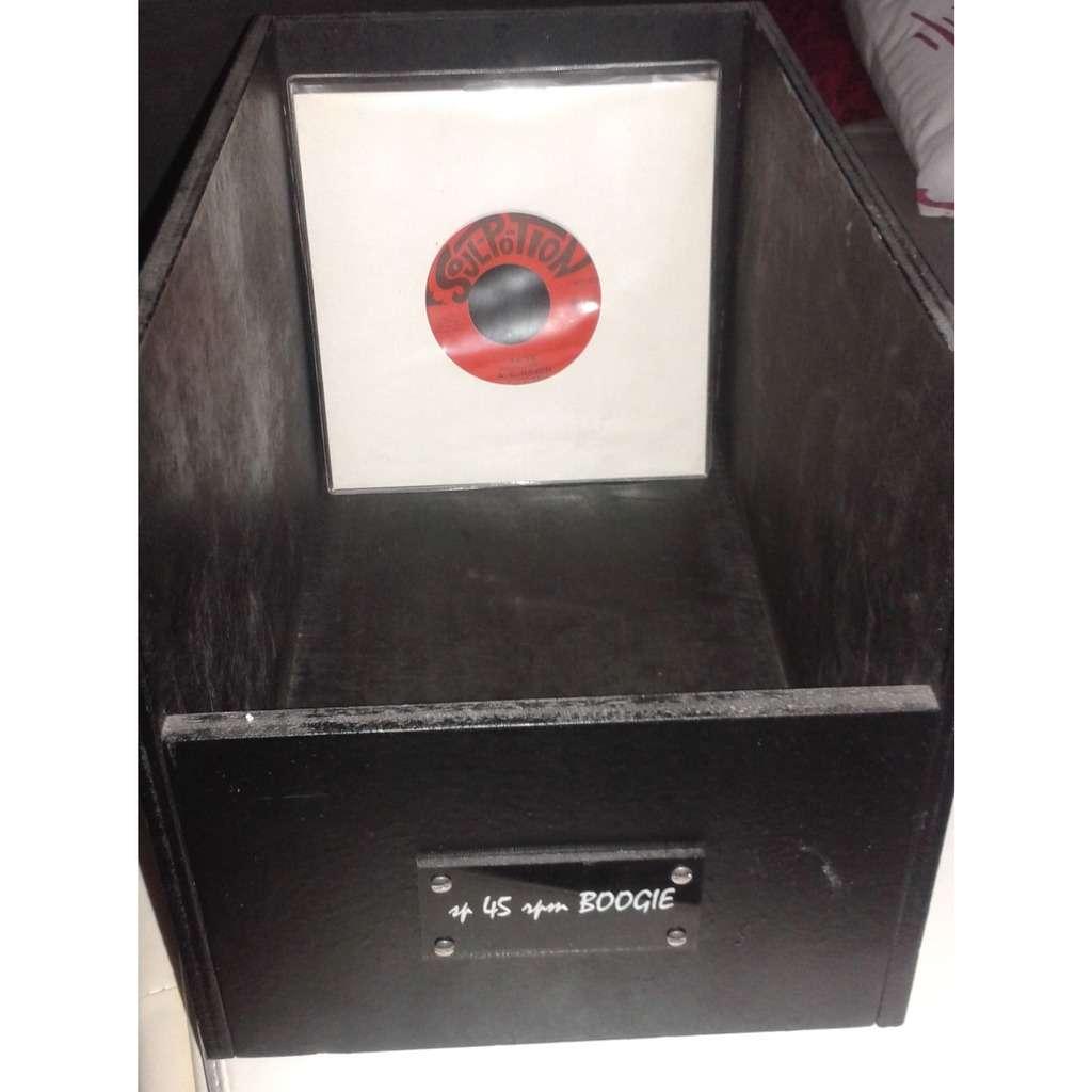 BAC PRESENTATION SP45RPM BOOGIE x100 vinyls max