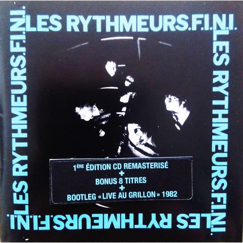 SMAP Records : les Rythmeurs Fini - CD