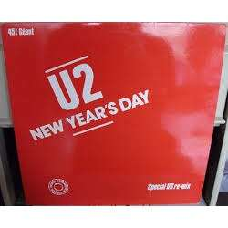 New Year's day (French 1983 Ltd 2-trk 12 promo absolutely unique full titles ps) U2