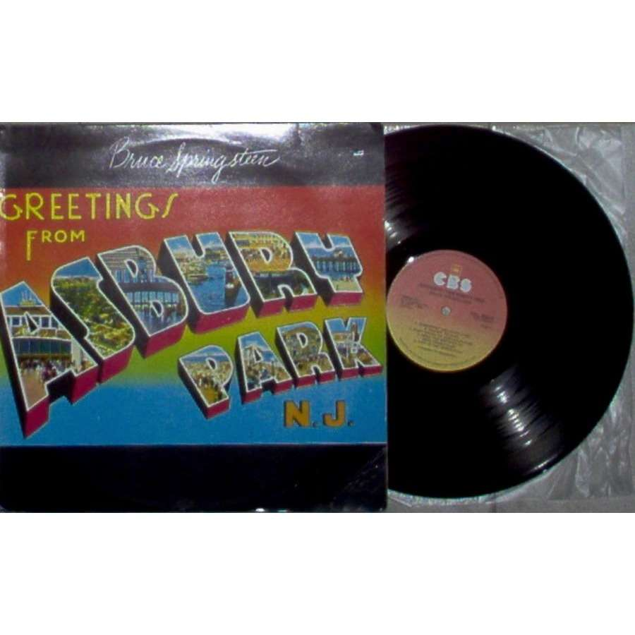 Greetings From Asbury Park Nj South Africa 1985 9 Trk Lp On Cbs
