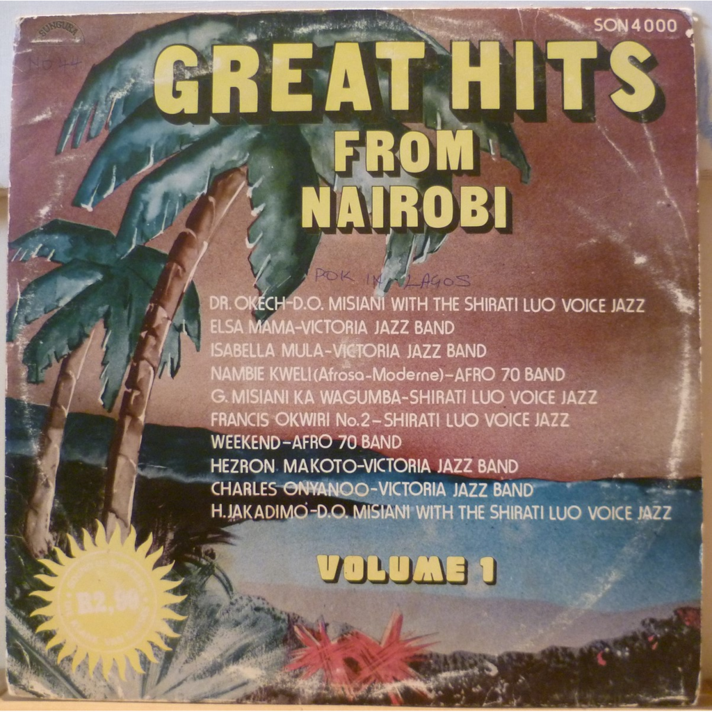V--A Feat. D.O. MISIANI & SHIRATI LUO VOICE JAZZ Great hits from Nairobi Volume 1