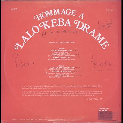 Lalo Keba Drame Hommage à