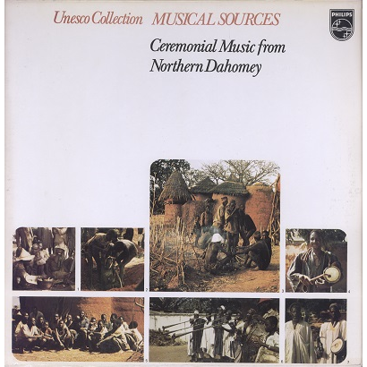 northern dahomey, benin ceremonial music from northern dahomey