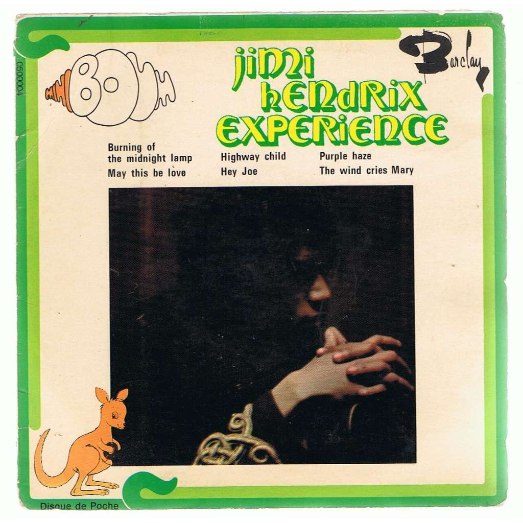 JIMI HENDRIX EXPERIENCE BURNING OF THE MIDNIGHT LAMP/MAY THIS BE  LOVE/HIGHWAY CHILD