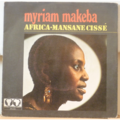 MAKEBA , MYRIAM - Africa / Mansane Cisse - 7inch (SP)