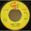 ADERO ONANI - Sande monika / Were - 7inch (SP)