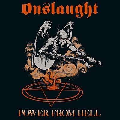 ONSLAUGHT Power From Hell. Black Vinyl