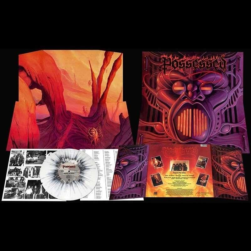 POSSESSED Beyond The Gates. Splatter Vinyl