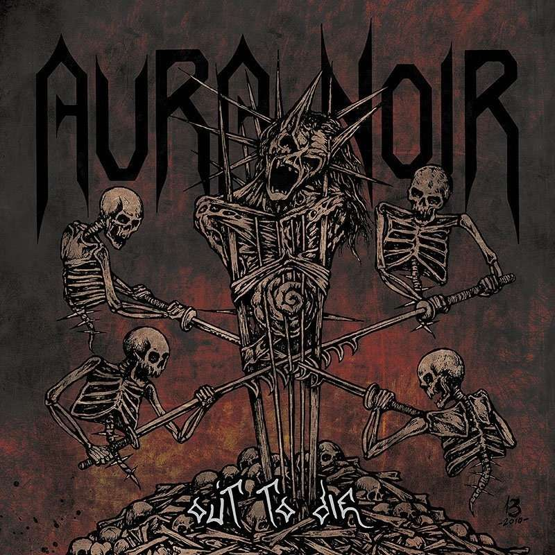 AURA NOIR Out To Die. Black Vinyl
