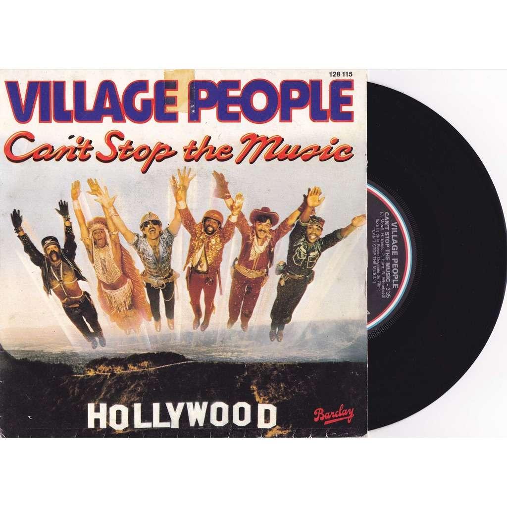 VILLAGE PEOPLE Can't Stop The Music/ milkshake