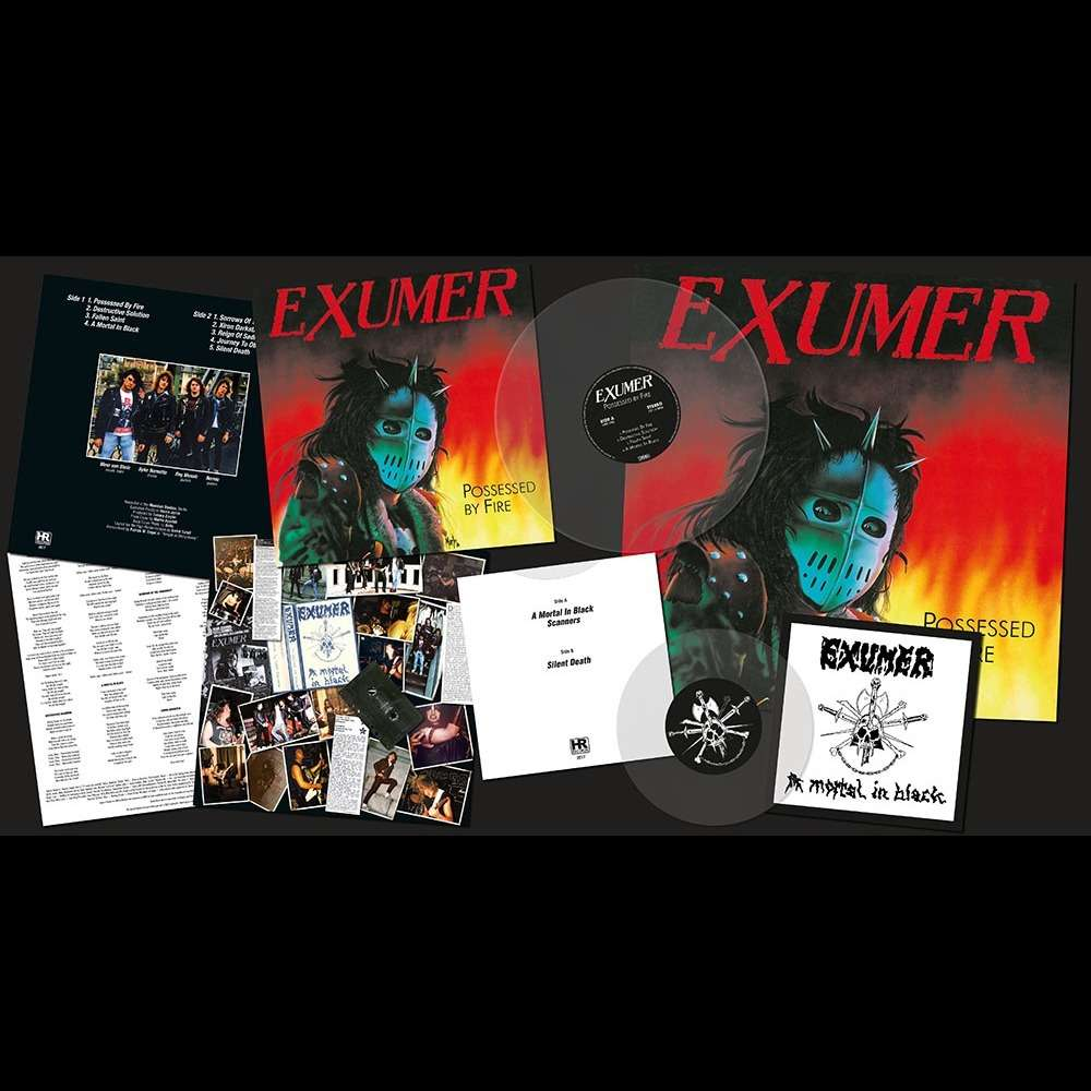 EXUMER Possessed by Fire. Transparent Vinyl