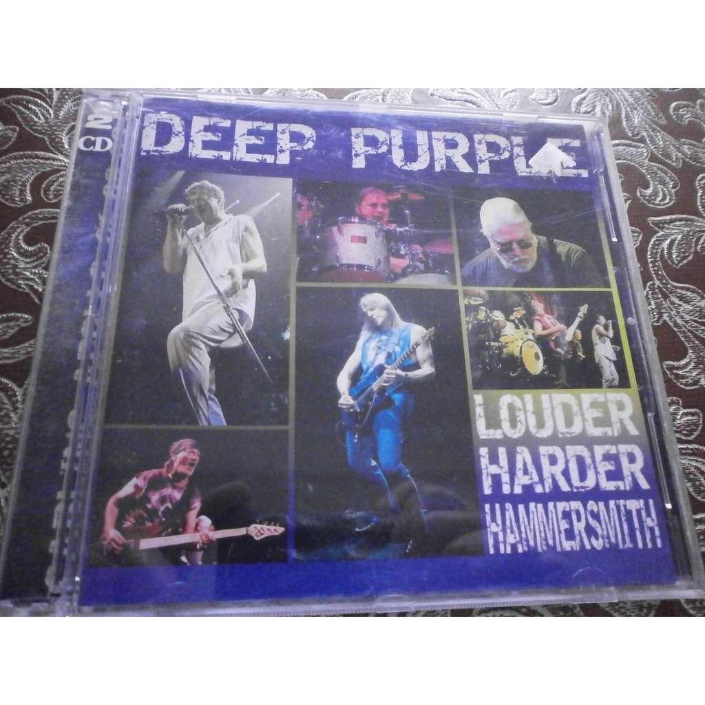 CD. DOBLE. DEEP PURPLE - LOUDER HARDER HAMMERSMITH (HAMMERSMITH ODEON, LONDON, U.K., SEPTEMBERE, 06, 2002)