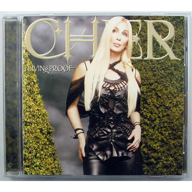 Cher Living Proof By Cher Cd With Mick1052 Ref 118593931
