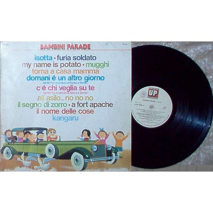 AA / VV / I Sanremini Bambini Parade Vol.5 (Italian 1978 original 11-trk V/A LP full ps)