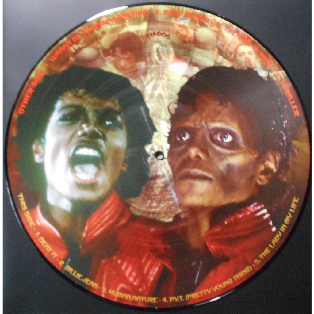Thriller Picture Disc By Michael Jackson Lp With Ald93