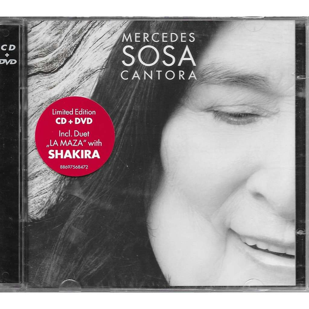 disco de mercedes sosa cantora 2009