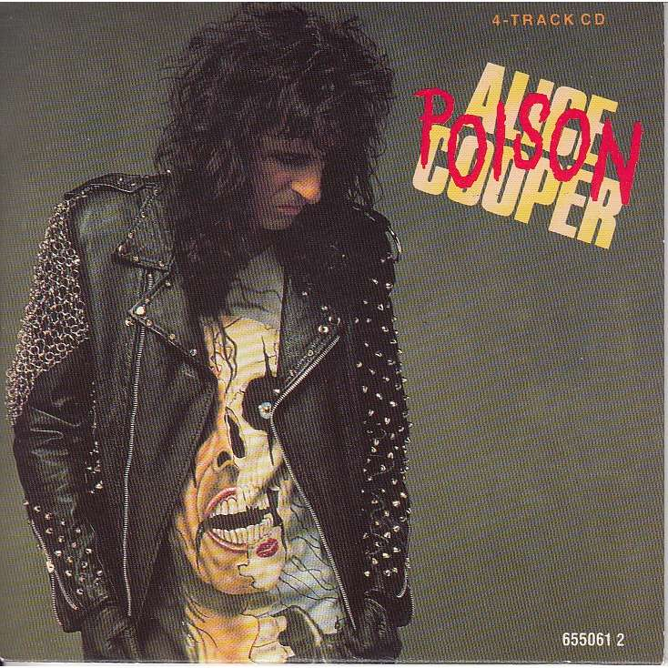 cheap for discount 9327e 33682 Alice Cooper Poison / Trash/ Ballad of Dwight Fry-live / I got a line on  You (Spirit-Randy California Cover)